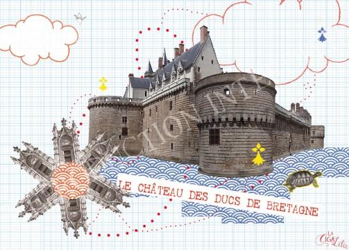 Monuments : le château et l'hermine