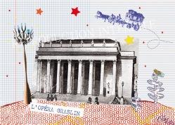 Monuments : l'Opéra et la cigale