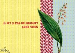 Proverbes déguisés : Muguet (projet)