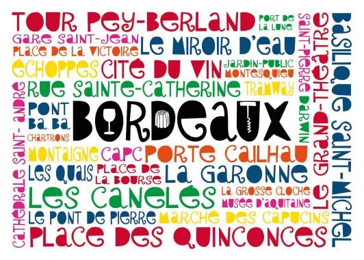 Mots de Bordeaux (Côté Bord'eau Editions)