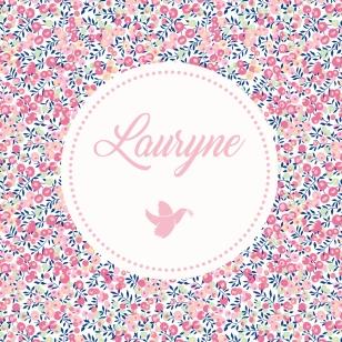 Faire-part pour Lauryne