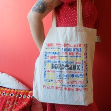 Tote-Bag avec Côté Bord'eau