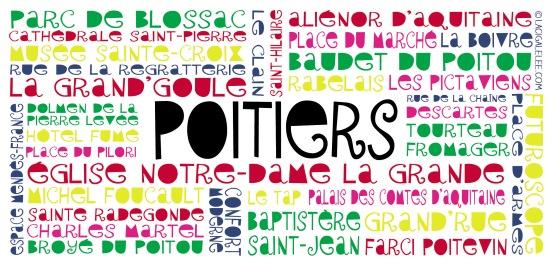 Visuel pour tasse Poitiers (Office de Tourisme Poitiers)