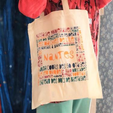 Tote-Bag Nantes avec Côté Bord'eau