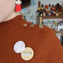 Badges Bonheur