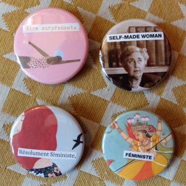 Badges Féministes